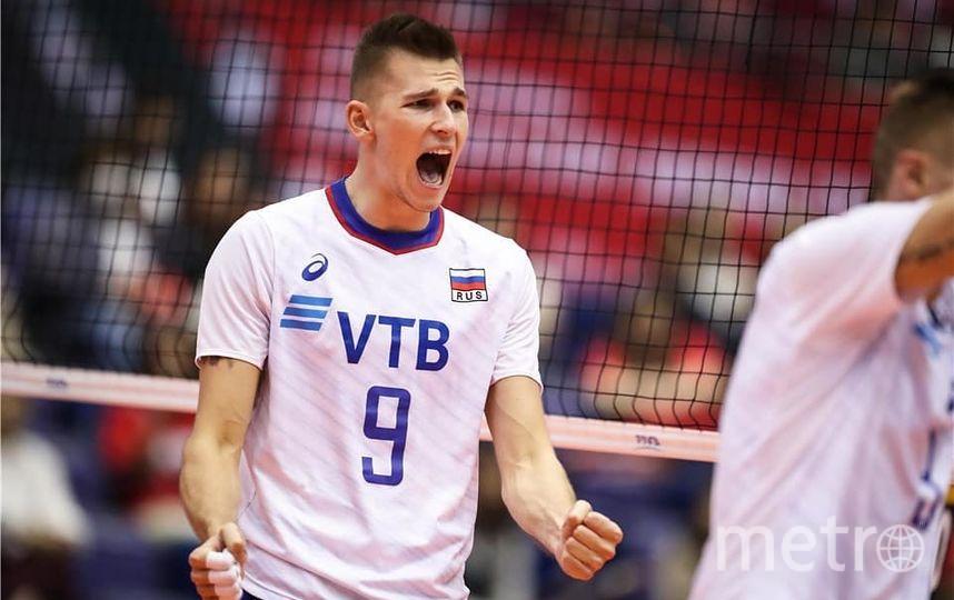 Сборная России по волейболу обыграла итальянцев. Фото Скриншот @rusvolleyteam