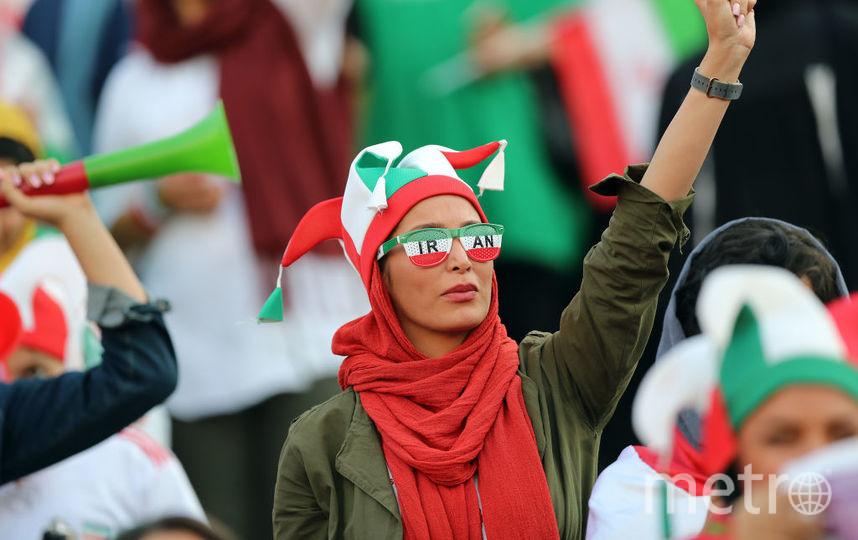 В Иране женщин впервые за 38 лет пустили на футбольный стадион. Фото Getty