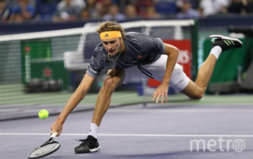 Зверев не смог ничего противопоставить Медведеву в финале Шанхай ATP Мастерс 1000. Фото Getty
