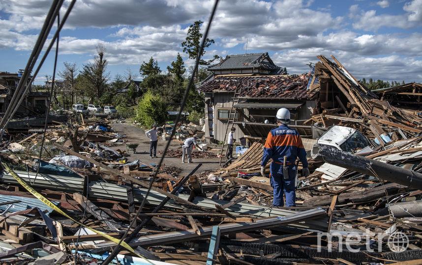 "Тайфун ""Хагибис"" ударил по основной территории Японии в субботу. Фото Getty"