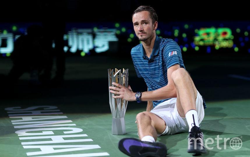 Даниил Медведев выиграл Шанхай ATP Мастерс 1000. Фото Getty