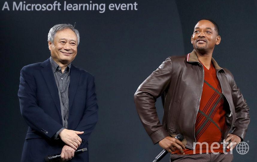 Энг Ли и Уилл Смит. Фото Getty