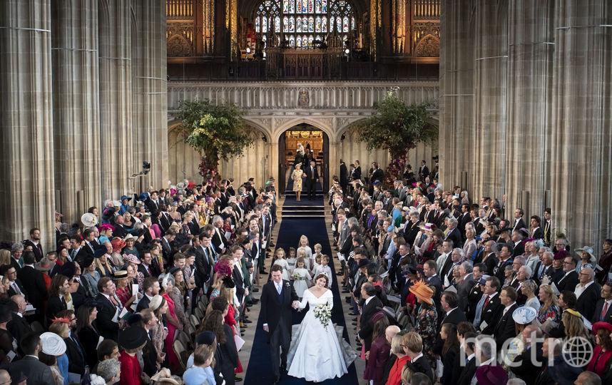 Торжество прошло 12 октября 2018 года в часовне святого Георгия у Виндзорского замка. Фото Getty