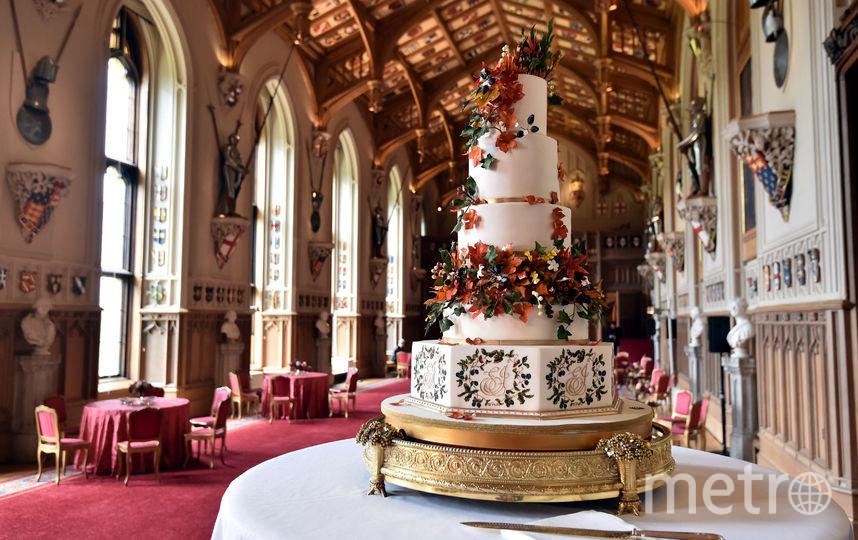 Свадебный торт. Фото Getty