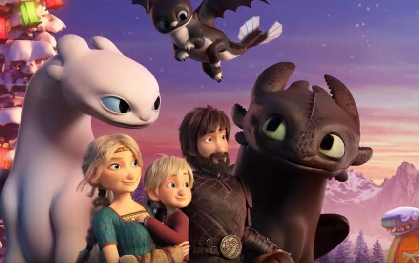 """Компания DreamWorks анонсировала праздничный выпуск анимационного фильма """"Как приручить дракона"""". Фото скриншот https://www.youtube.com/watch?v=RlQ--4AHd4M, Скриншот Youtube"""