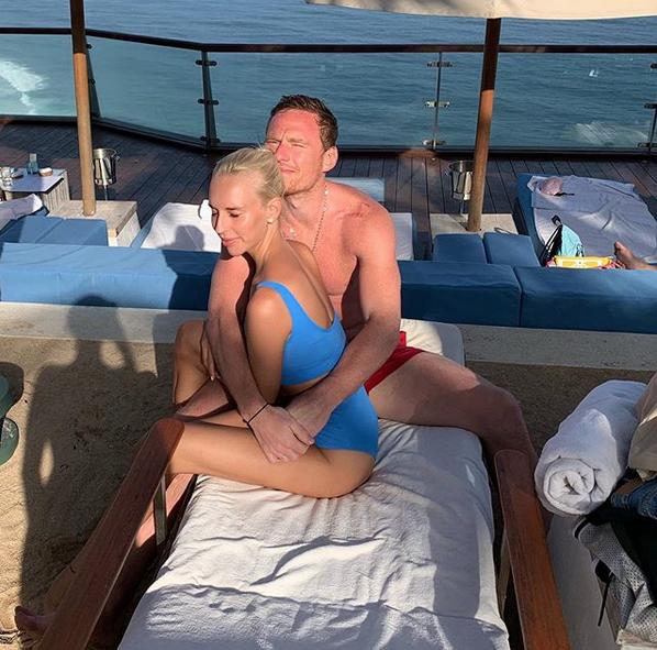 Яна Кудрявцева с мужем. Фото скриншот: instagram.com/kudryavtseva_y/