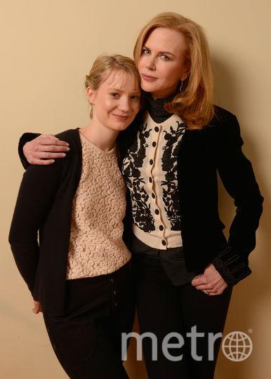 Миа Васиковска и Николь Кидман. Фото Getty