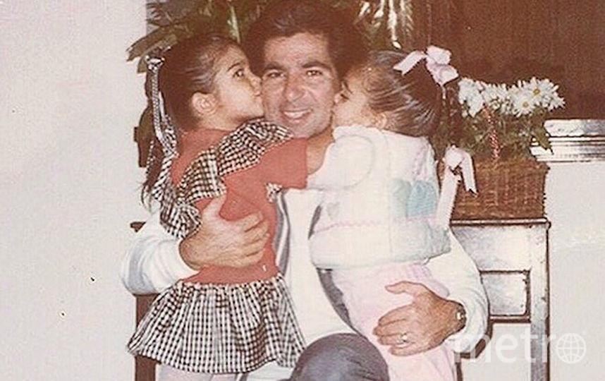 Ким Кардашьян и её отец. Фото Cкриншот Instagram/kimkardashian