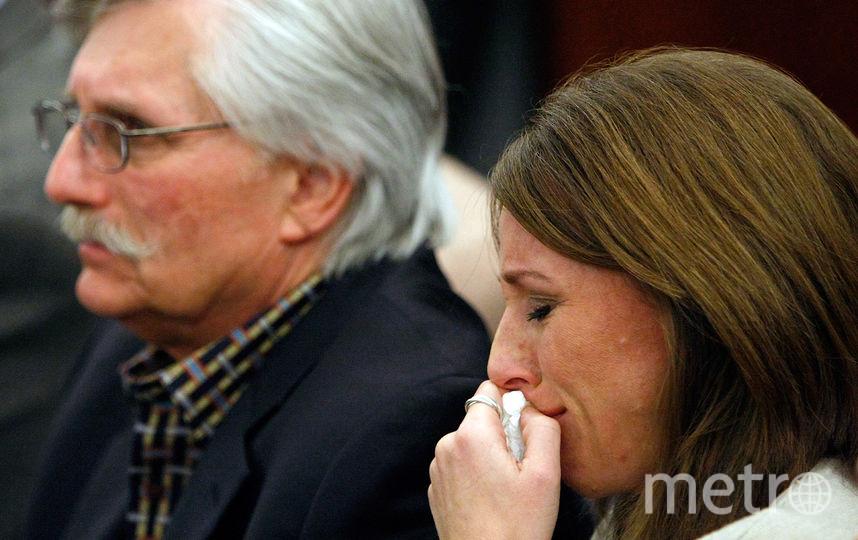 Фред Гольдман, отец убитого Рона Гольдмана, и его дочь Ким Гольдман. Фото Getty