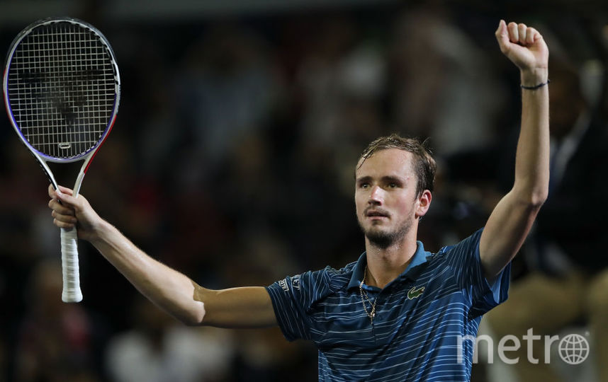 Даниил Медведев опередил Федерера в чемпионской гонке ATP. Фото Getty