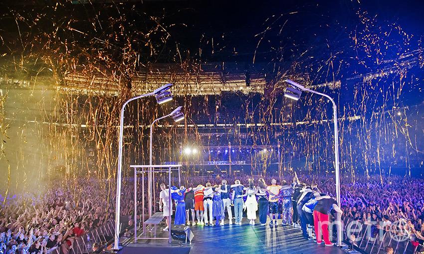 """Группировка """"Ленинград"""" дала завершающий коцерт большого гастрольного тура. Фото Елена Бледных"""