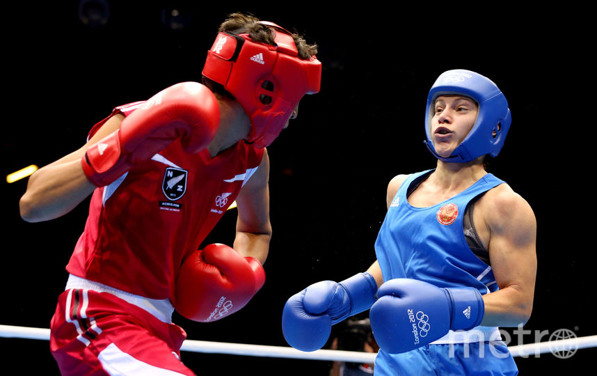 Софья Очигава (в синем). Фото Getty
