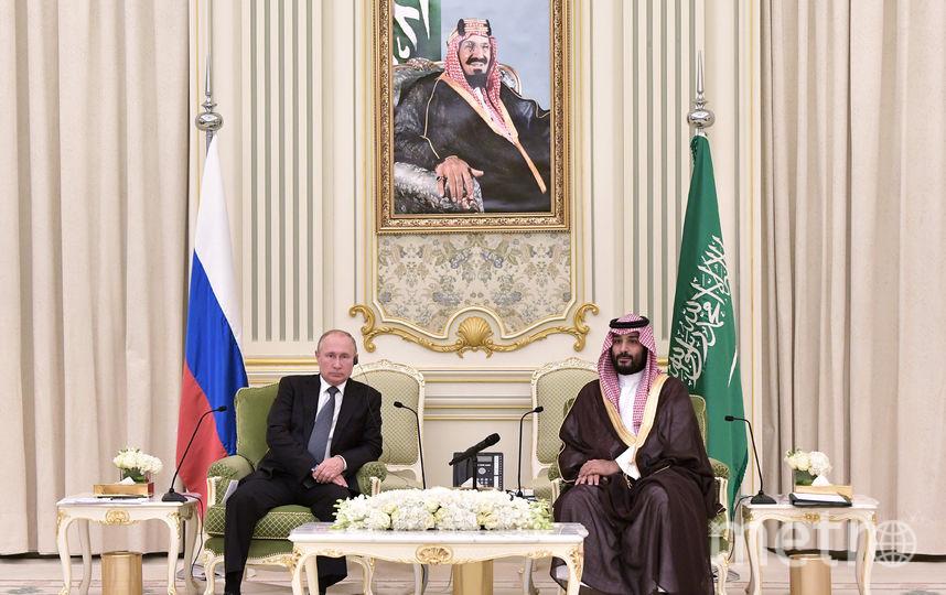 Владимир Путин и наследный принц Саудовской Аравии Мухаммед бен Сальман Аль Сауд. Фото AFP