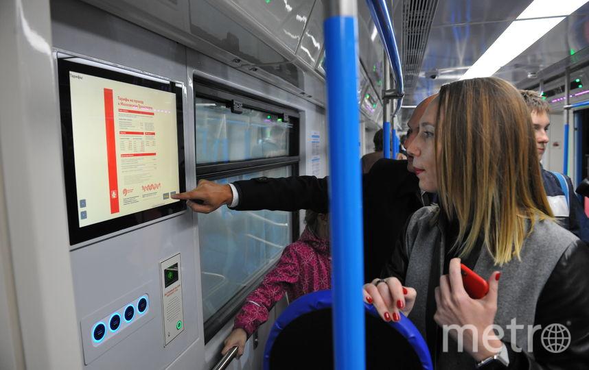 Видеоролики о Высоцком, Пелевине и Станиславском покажут в метро Москвы. Фото Василий Кузьмичёнок