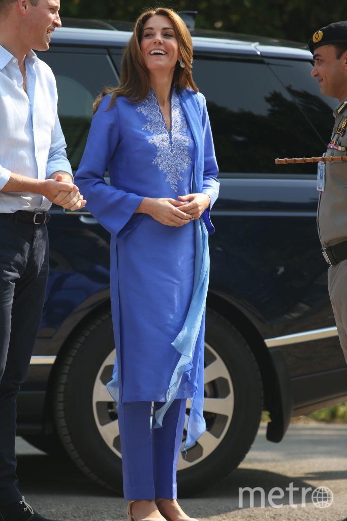 Кейт Миддлтон и принц Уильям отправились в пятидневный тур в Пакистан. Фото Getty