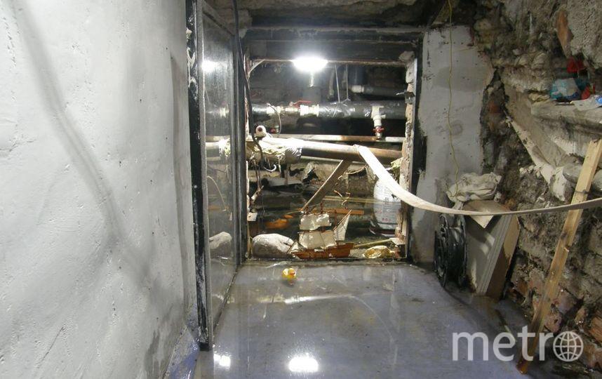 В Петербурге затопило подвалы жилых домов. Фото mytndvor, vk.com