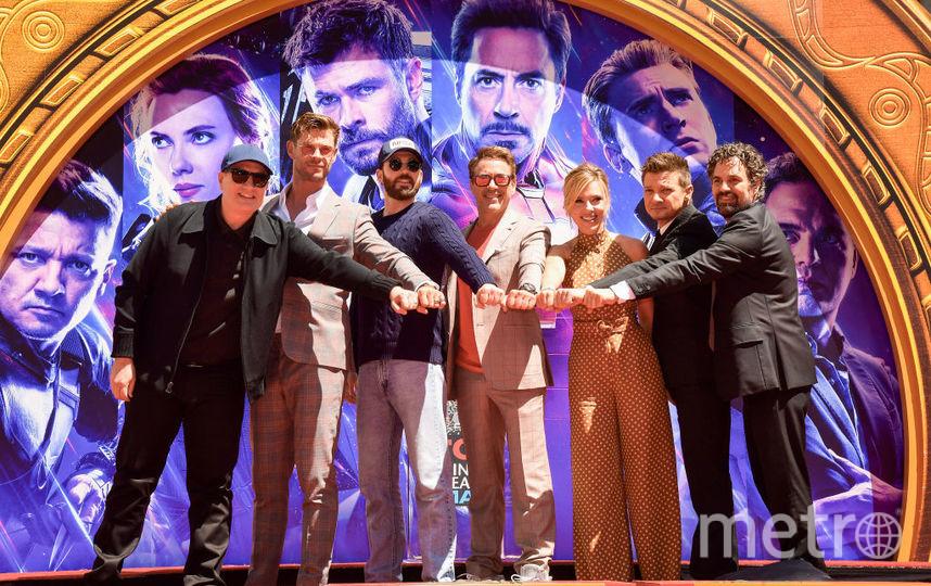 """Актёры серии фильмов о """"Мстителях"""". Фото Getty"""