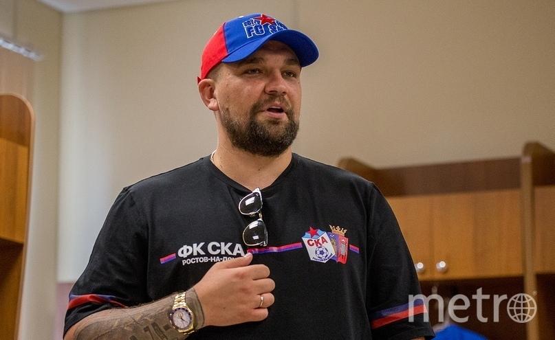 Василий Вакуленко. Фото ФК СКА