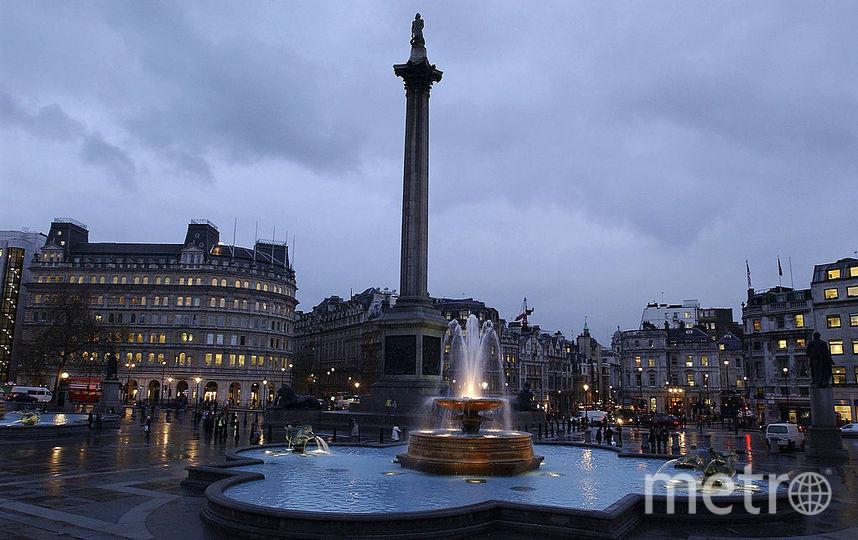 Колонна Нельсона в Лондоне. Фото Getty