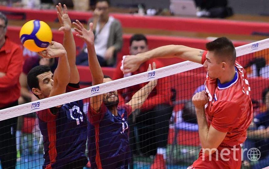 Сборная России завершила Кубок мира разгромом Туниса. Фото Скриншот @rusvolleyteam