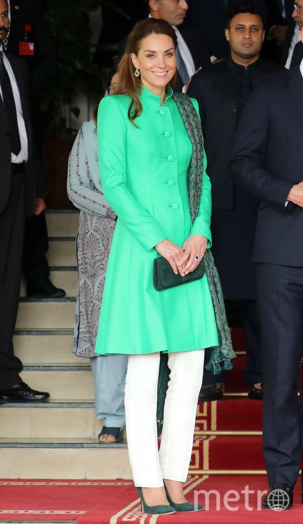 Принц Уильям и Кейт Миддлтон в гостях у Имрана Хана. Фото Getty