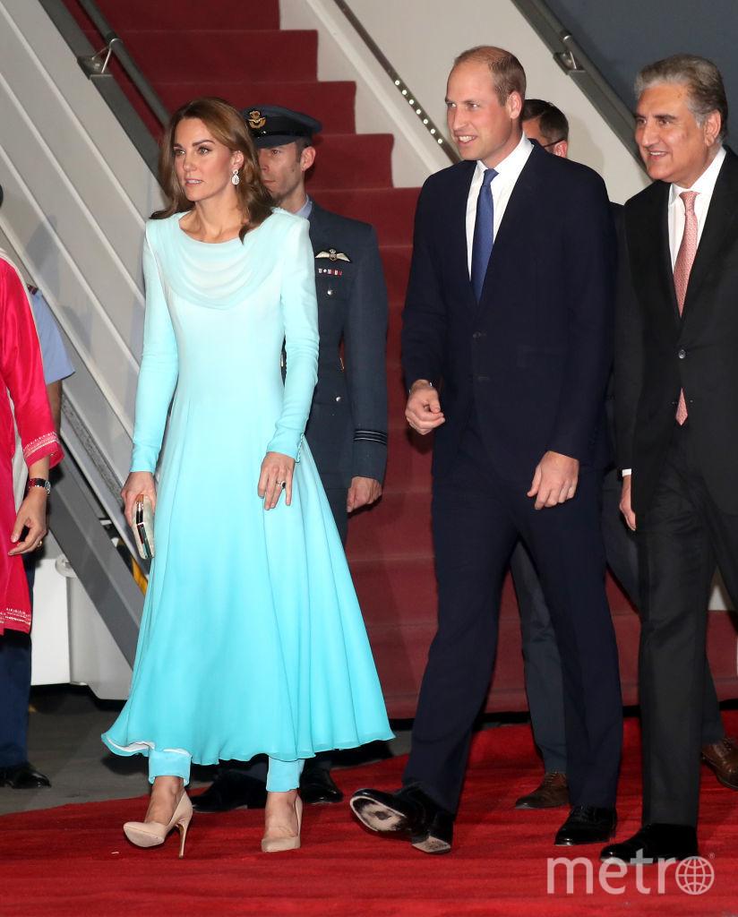 Кейт с супругом на пять дней прилетели в Пакистан. Фото Getty