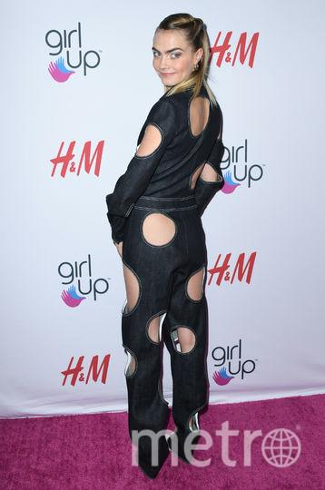 Кара Делевинь на церемонии Girl Hero Awards. Фото AFP