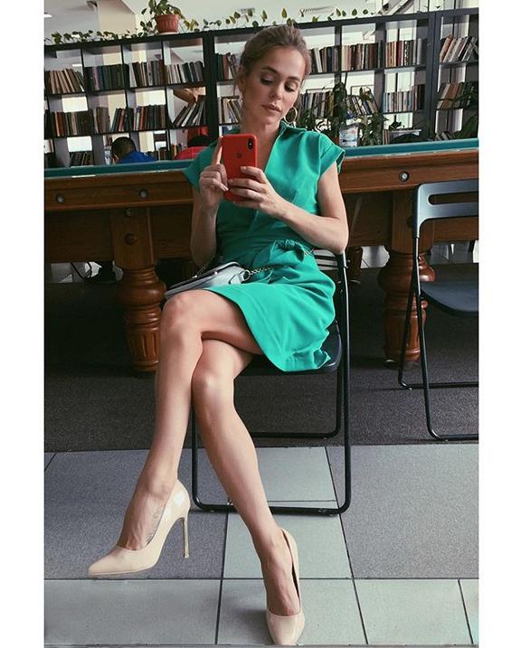 Анна Хилькевич. Фото Скриншот Instagram: @annakhilkevich