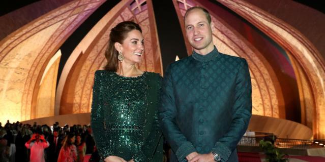 Кейт Миддлтон и принц Уильям прибыли в Пакистан с пятидневным туром.