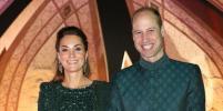 Идеальная пара: Кейт Миддлтон и принц Уильям в зелёных нарядах на приёме в Исламабаде