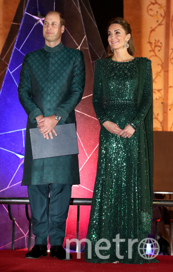 Кейт Миддлтон и принц Уильям прибыли в Пакистан с пятидневным туром. Фото Getty