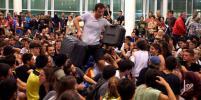 Хаос в Каталонии покалечил людей