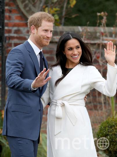 Объявление о помолвке Меган Маркл и принца Гарри состоялось в ноябре 2017 года. Фото Getty