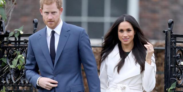 Объявление о помолвке Меган Маркл и принца Гарри состоялось в ноябре 2017 года.