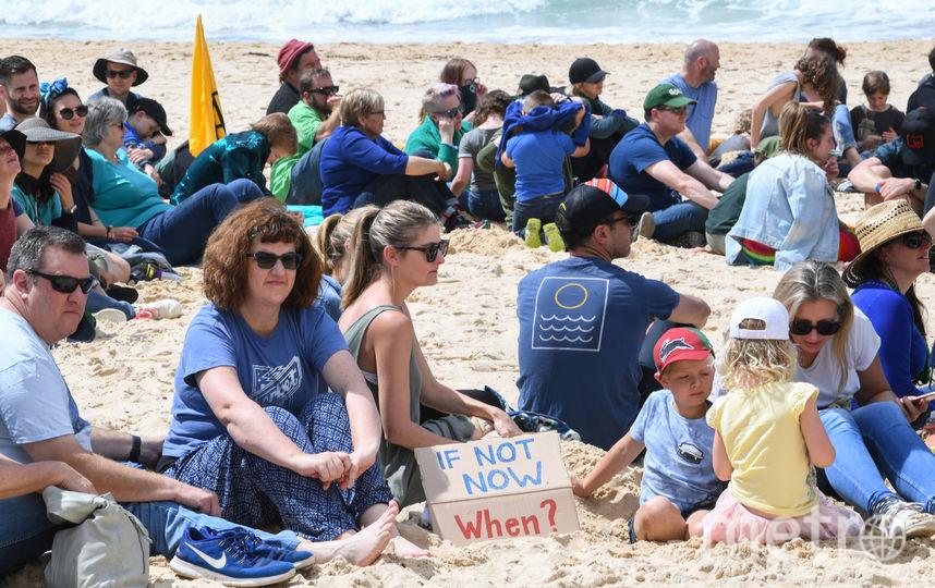 Активисты  экологического движения Extinction Rebellion. Фото Getty