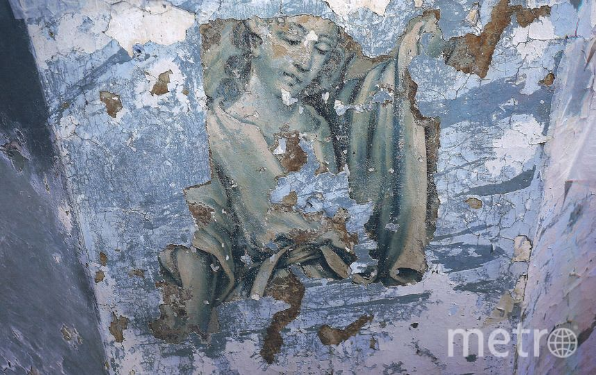 В Нижнем храме Церкви Благовещения Пресвятой Богородицы в ходе реставрационных работ обнаружена уникальная живопись. Фото все фото - kgiop.gov.spb.ru