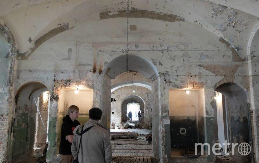 В Нижнем храме Церкви Благовещения Пресвятой Богородицы в ходе реставрационных работ обнаружена уникальная живопись.