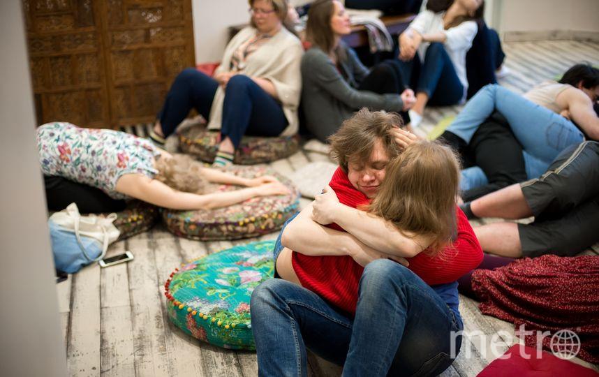 """Несколько раз в неделю в Петербурге проходит Cuddle party. Фото """"Metro"""""""