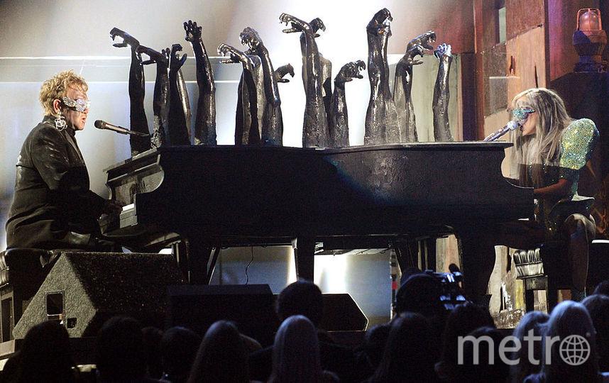 Элтон Джон и Леди Гага. Фото Getty