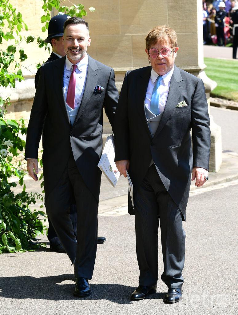 Элтон Джон и Дэвид Ферниш. Фото Getty