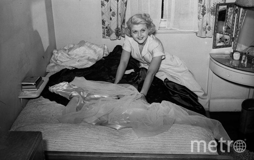 Анджела Лэнсбери в молодости. Фото Getty