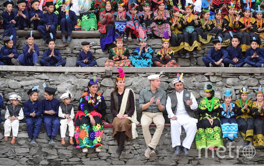 Кейт Миддлтон и принц Уильям побывали в гостях у народа Калаши на севере Пакистана. Фото Getty