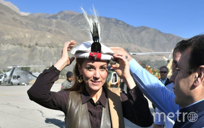 Кейт Миддлтон и принц Уильям на севере Пакистана. Фото Getty
