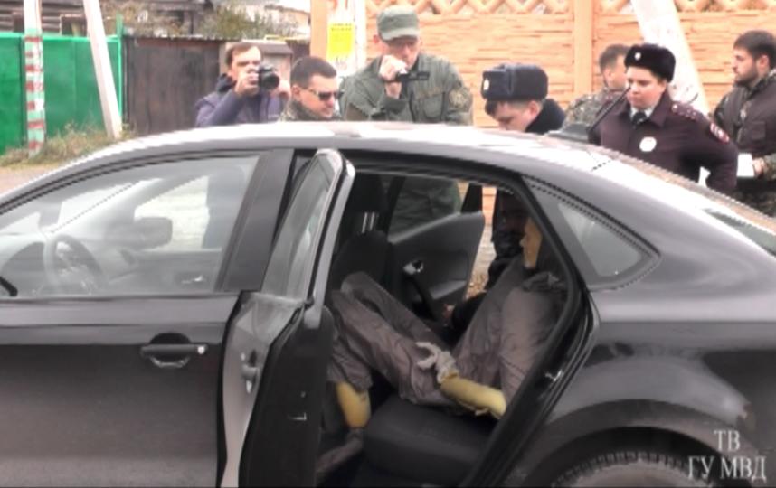 Скриншот видео с места убийства. Фото ГУ МВД России по Свердловской области