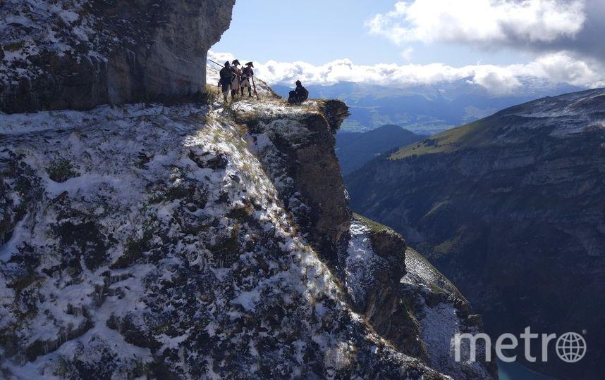 """В горах справились и без спецснаряжения. Фото Борис Мегорский, """"Metro"""""""