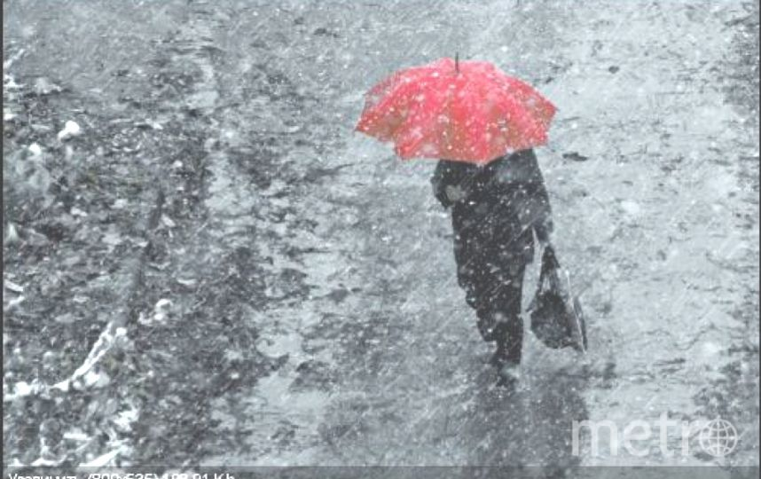 Петербург ждут сильные дожди в октябре. Фото Getty