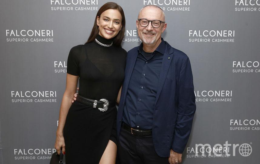 Ирина Шейк и итальянский предприниматель Сандро Веронези. Фото Getty