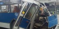 Опубликовано видео ДТП с троллейбусом в Чебоксарах: пострадавших больше 30-ти