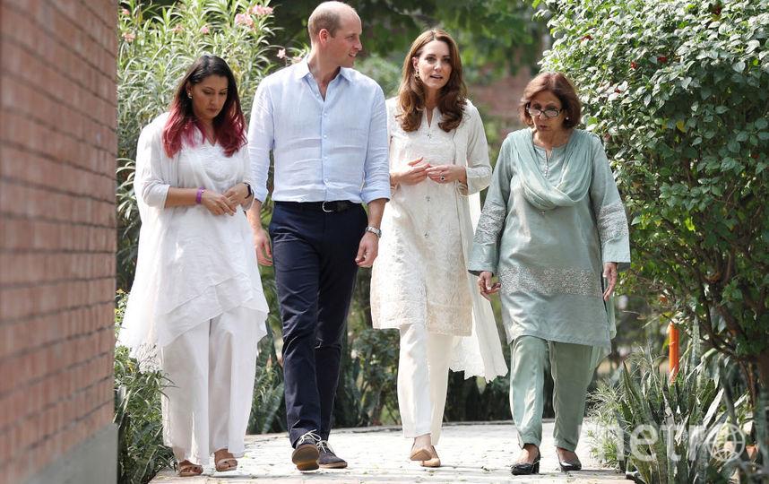 Кейт и Уильям в Лахоре. Фото Getty