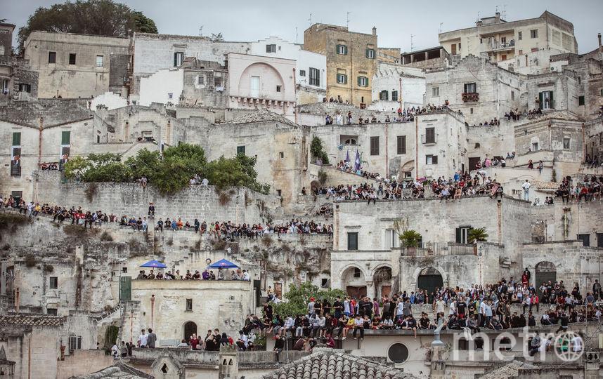 В итальянском городе Матера впервые прошли знаковые и старейшие соревнования в мире паркура и фрирана. Фото Mauro Puccini | Red Bull Content Pool, Предоставлено организаторами